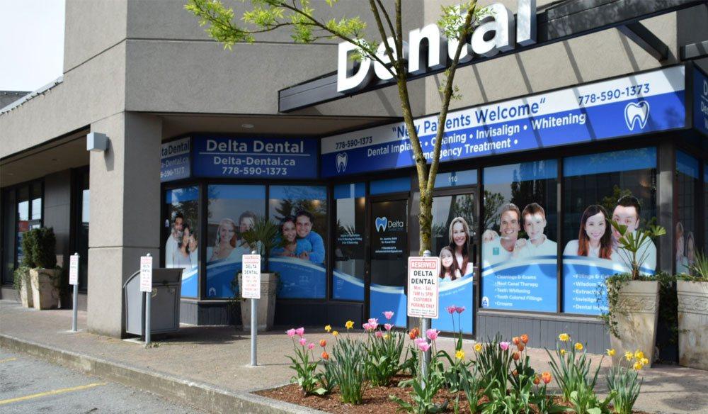 delta dental clinic location